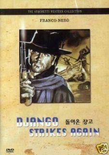 Django Strikes Again DVD Franco Nero Spaghetti Western
