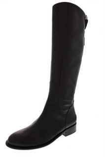 Franco Sarto NEW Rider Brown Leather Knee High Riding Boots Shoes 6