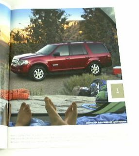 2008 08 Ford Expedition Truck SUV Brochure El Eddie XLT