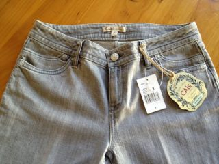 New CAbi Boot Cut Cloud Jeans Contemporary Fit Size 8