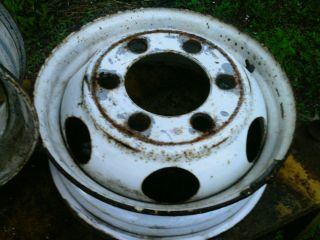 lug WHEELS 19 5 x 6 00 ford f600 truck used rims several others