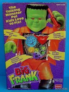 Talking Big Frank Playskool Frankenstein PAL Kids Love to Fix Up New