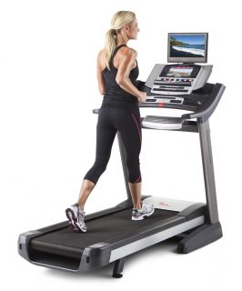 Free Motion Fitness 790 Folding Treadmill w Touchscreen iFit TV
