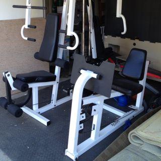 Multi Station Home Gym Equipment Fitness Machine System