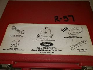 FORD AODE TRANSMISSION REPAIR ROTUNDA SERVICE TOOL KIT T983L 1000 FH