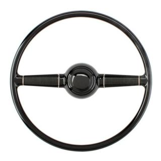 New 1940 15 Ford Steering Wheel w Horn Button Spring