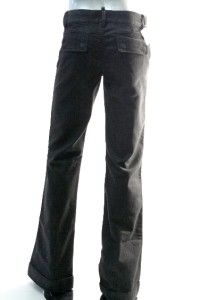 Denim Womens Black Coal Wash Five Points Trouser Jean Sz 27 28