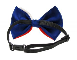 American Flag Print Satin Adjustable Bowtie Bow Tie