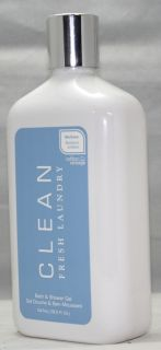 Clean Fresh Laundry 18 5 oz Bath Shower Gel Woman New
