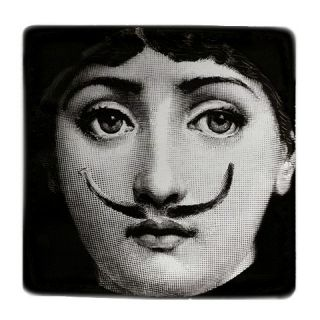 fornasetti mustache double side cushion case cover this cushion case