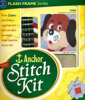 Tobo Anchor Long Stitch Kit Flash Frame Series