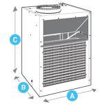 Friedrich 24000 BTU Vertical Packaged AC Heat Pump Unit