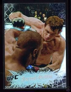 Forrest Griffin 2010 Topps UFC Main Event 62