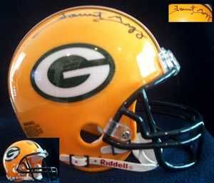 Forrest Gregg Signed Auto Green Bay Packers Mini Helmet