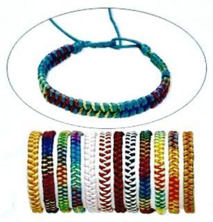 Wholesale 12 Hand Knit Thread 9 Friendship Bracelets