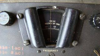 WWII Signal Corps BC 342 N Radio Receiver