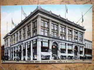 Frears Dry Goods Store Troy NY 1907s