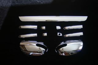 2010 2011 Kia Forte Chrome Door Handle Cover Mirror Cover Rear Lift