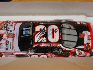 24 Scale Tony Stewart Autographed NASCAR