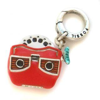 New Fossil Brand View Finder Charm Bracelet Slide Viewer Toy JA468797