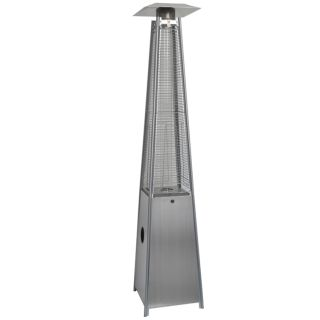 Modern Pyramid Outdoor Patio Heater Propane Gas Home Commercial