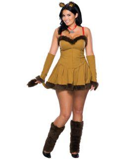 Wilma Flintstone Plus Size Adult Halloween Costume