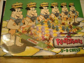 Flintstones Hanna Barbera 3D Chess Set