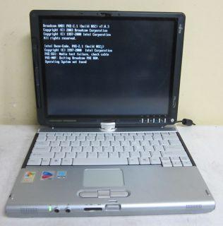 Fujitsu LifeBook T4010 Tablet PC Pentium M 1 6GHz 1GB 40GB Laptop WiFi