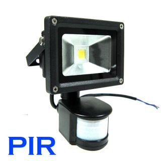 PIR Motion Sensor Detective LED Flood Light Security Wall Lamp