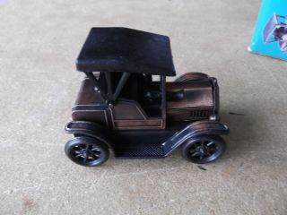 1917 car DIE CAST MINIS PENCIL SHARPENER ANTIQUE FINISH