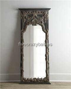 68 Baroque Floor Leaner Mirror Full Length Wall Antique Vine