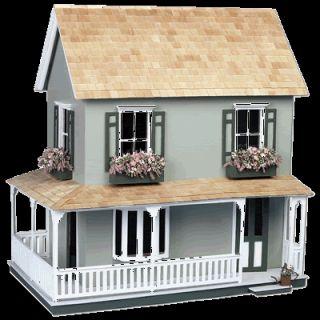 Greenleaf Wooden Dollhouses Laurel Dollhouse Doll House Kit for Black