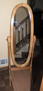 is for a New Oak Full Length Tilting Dressing Bedroom Cheval Mirror