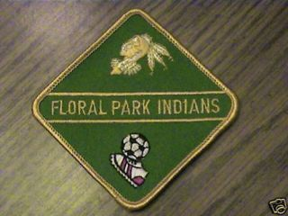 Floral Park Indians Soccer Club Team Games Cap Patch