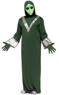 UFO Deep Space Alien Robe Adult Halloween Costume 9954
