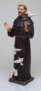 St. Francis Statue Collection Figurine Museum Christianity Inspiration