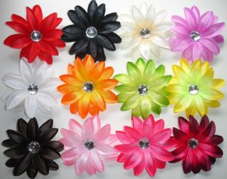 12 Tropical Lily Hair Flowers Wholesale Boutique Supply Craft Wedding
