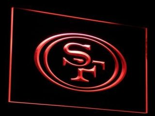 B057 R San Francisco 49ers Football Neon Light Sign