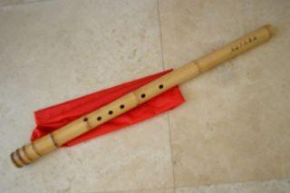 Hole Dongxiao w. U Mouthpiece Full chromatic Note Bamboo Flute