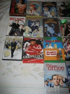 tv series show box set dvd season lot 24 titles