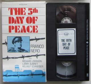 Day of Peace VHS Interglobal Video Franco Nero Italian War