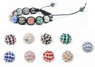 Shamballa Friendship Bracelet Making Kit Instructions Pave Crystal
