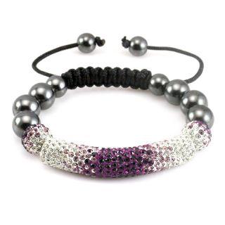 Crystal Disco Ball Shamballa bracelets friendship charm bracelet