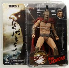 Frank Millers 300 Movie series 1 KING LEONIDAS Action Figure Neca toys