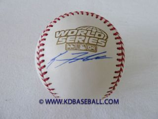 Red Sox Keith Foulke Signed 2004 World Series Baseball