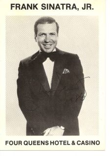 Frank Sinatra Jr Autograph