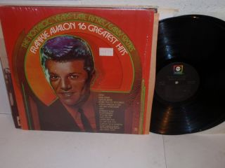 Frankie Avalon 16 Greatest Hits LP ABC ABCX 805 Shrink