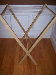 Wood Folding Dryer Rack Art School Teacher Paper MW 217