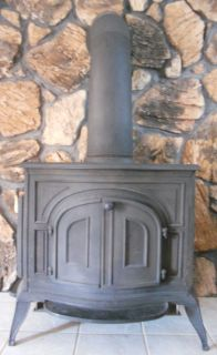 Franklin Cast Product Wood Burning Stove