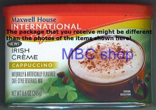 GFI Maxwell House International Instant Powder Coffee Flavored Mix